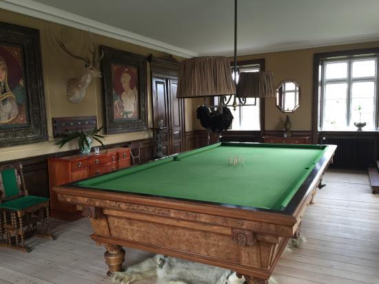 Populære Det største billiard bord jeg nogensinde har set. Desværre var der IV-16
