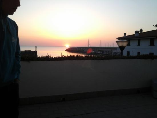 Hotel Villa dei Gerani: Beautifull view from terrace (room 2)