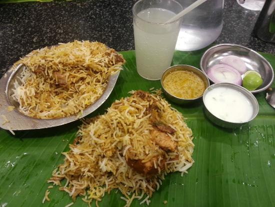 Hyderabadi biryani picture of hyderabad biryani house for Crystal 7 cuisine hyderabad