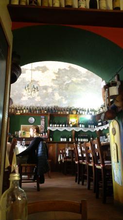 Osteria Vineria Vecchio Camino: sala