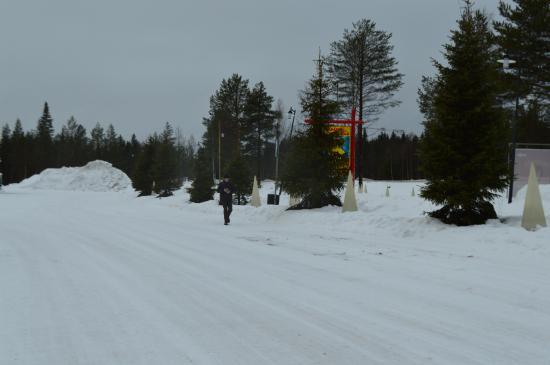 Деревня Санта Клауса: paysage enneigé