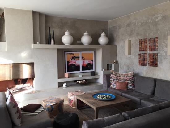 Dar Maya: Lounge on top floor