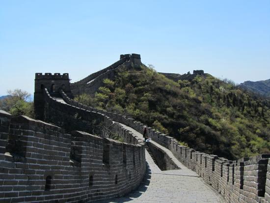 The Great Wall at Badaling: Wall and tower