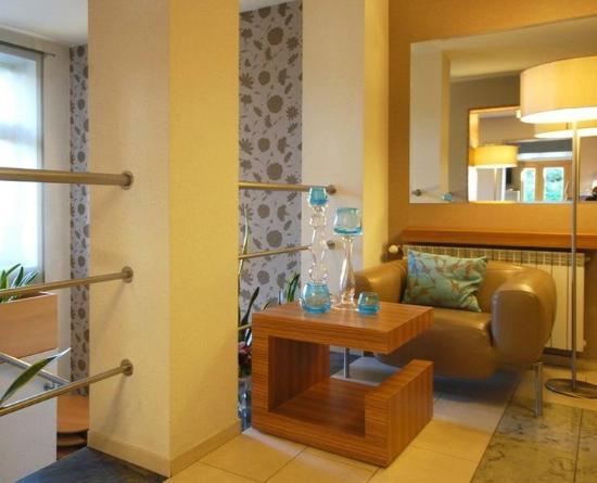 Perla Hotel: Recepcja