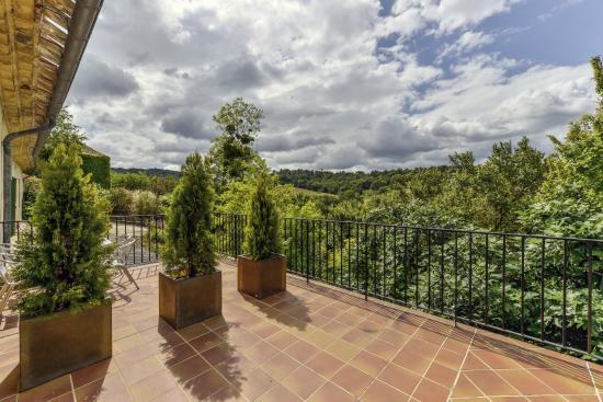 Domaine de Fraisse : Terrasse