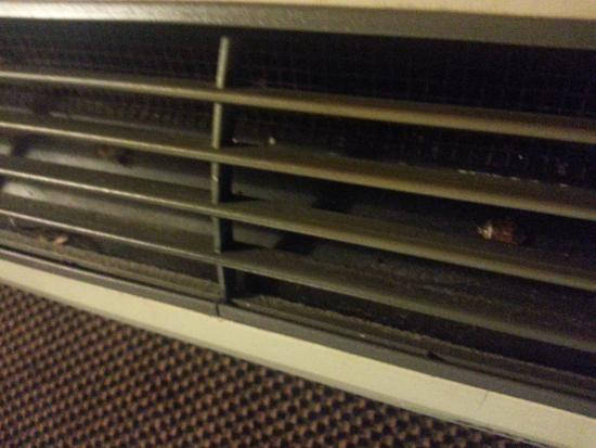 Motel 6 Nashville - Airport: Roach in our a/c vent.