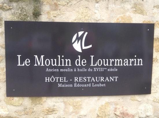 Moulin de Lourmarin: Edouard Loubert vraiment agreable et abordable.