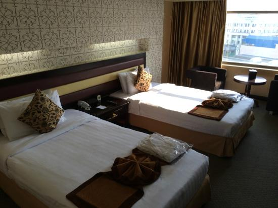 Casa Hotel: very very hot afternoon sun