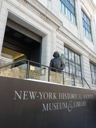 New-York Historical Society Museum & Library: 77th street Entrance
