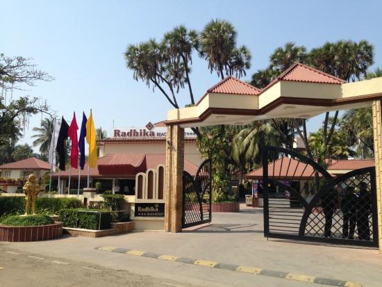 Radhika Beach Resort: Hotel