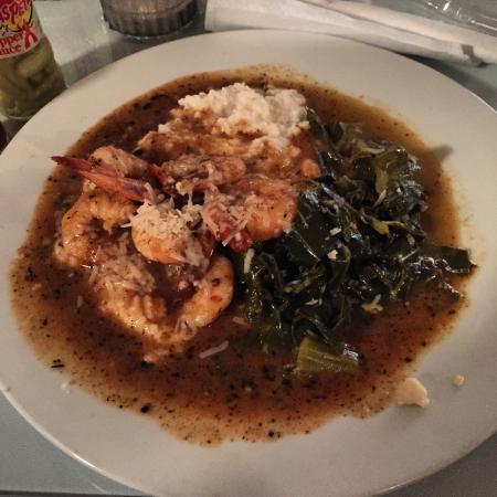 Cafe At City Market: Shrimp and grits ...