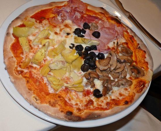 Il Mastroianni : Pizza 4 Stagioni