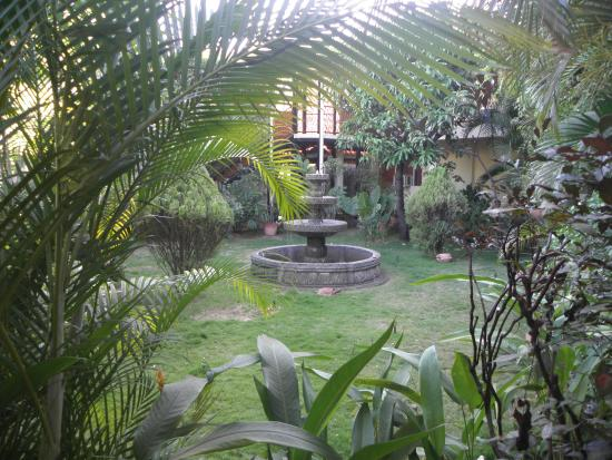 Courtyard of the Hotel Austria     De la catedral 1 cuadra al sur, Leon, Nicaragua