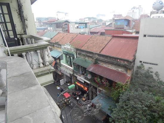 Hotel du Centre Ville: Вид с балкона