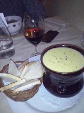 La vera fonduta valdostana. Da provare! - Picture of Ristorante La ...