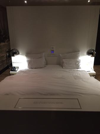 Hotel & Spa Savarin: Ons bed - Executive room