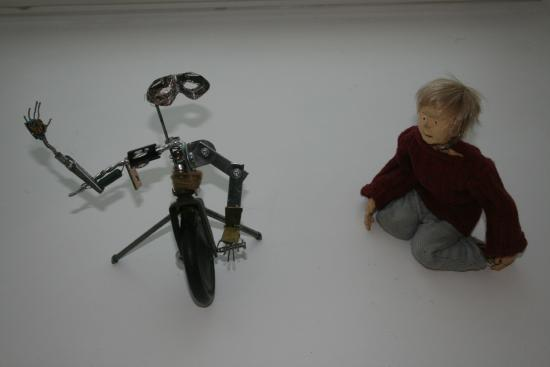 Pier Arts Centre: Puppets by Mary Grieve, part of Stargazing exhibition