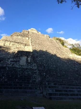 Becan Ruins: Piramide scalabile con la fune
