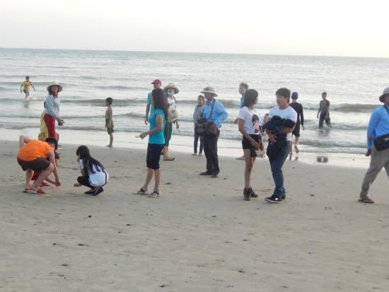 Long Hai Beach : Пляж веечером