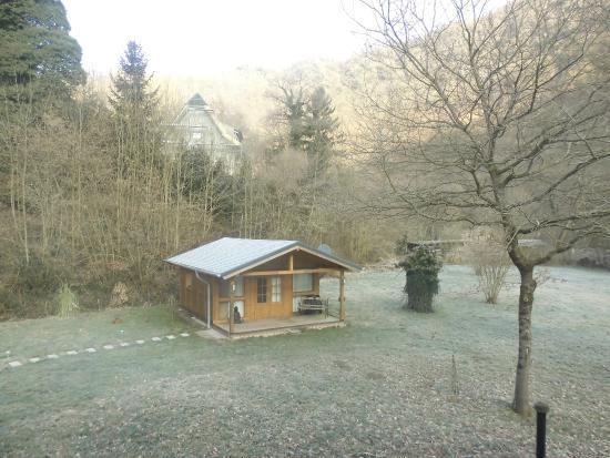 Moselkern, Almanya: Vue de la chambre 22 au matin du 14 mars 15