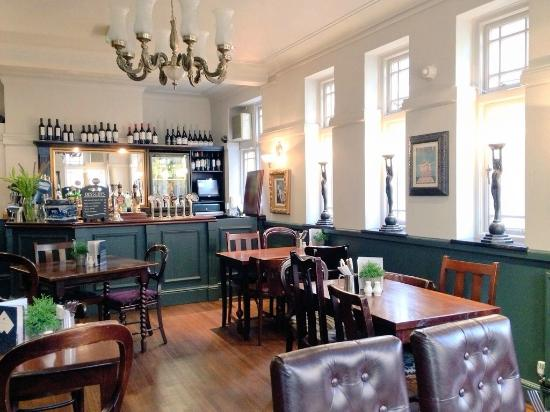 Upstairs art-deco bar and restaurant - Picture of The White Horse ...
