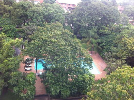 Taj Pamodzi Hotel : The View from the room