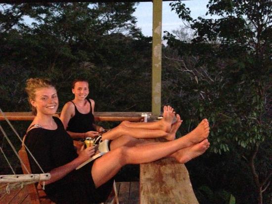 Santa Teresa Surf Vista Villas: Sundowners