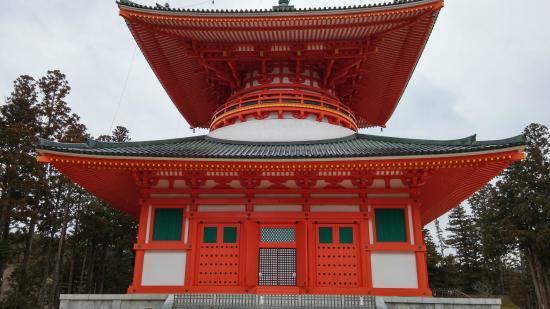 Konpon Daito Pagoda - Picture of Koyasan Danjo Garan, Koya-cho - TripAdvisor
