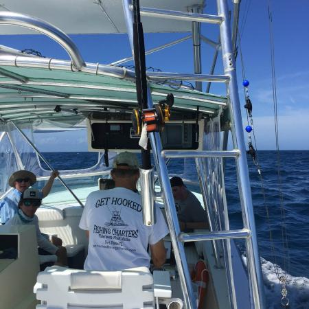 A great day of fishing picture of treasure coast boat for Fishing equipment rental