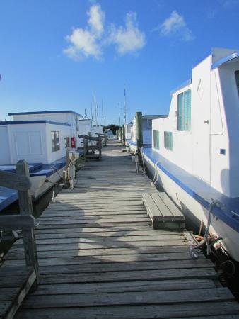 Sea Cove Motel and Marina : View from dock