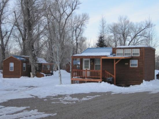 Chama River Bend Lodge: cabins available for rent as well