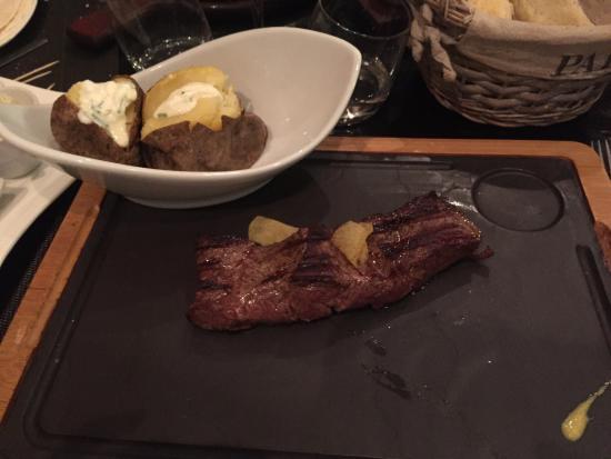 La Parrilla : Magnifique lomo bœuf !!!