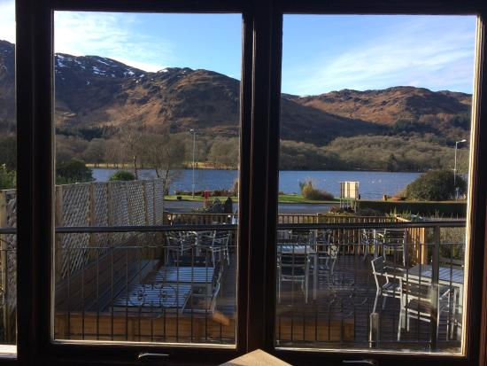 The Achray House Hotel and Lodges: View from breakfast room