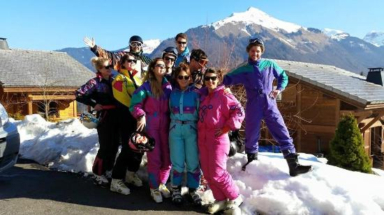 9a392e34636d Ready to hit the slopes 80 s style! - Picture of Chalet Sojourn ...
