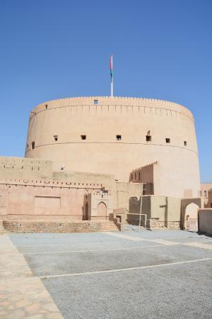 Nizwa, Oman: Massive military fortress