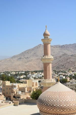 View on Nizwa from tower