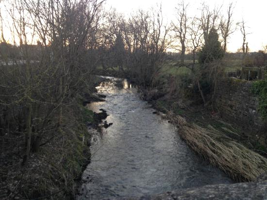 Waterhouses, UK: Stream nearby