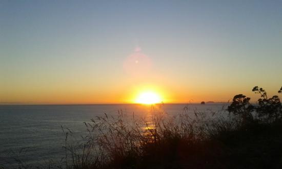 Hahei Oceanfront: Sonnenaufgang