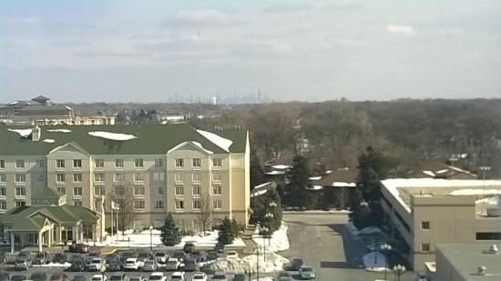 View from room picture of hilton chicago oak brook for 10 drury lane oakbrook terrace illinois 60181