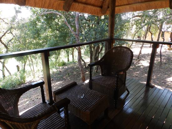 Nkonyeni Lodge & Golf Estate Hotel: terasse