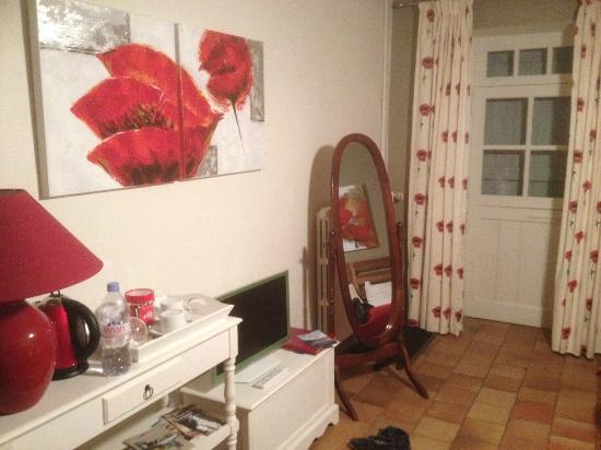 Azay-sur-Cher, France : Suite coquelicot