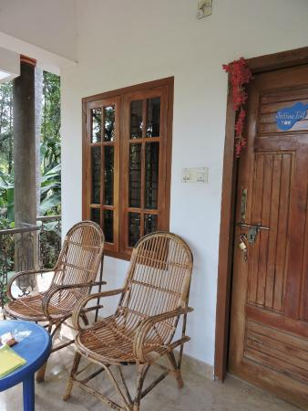 La Maison de Varkala: terrasse privative