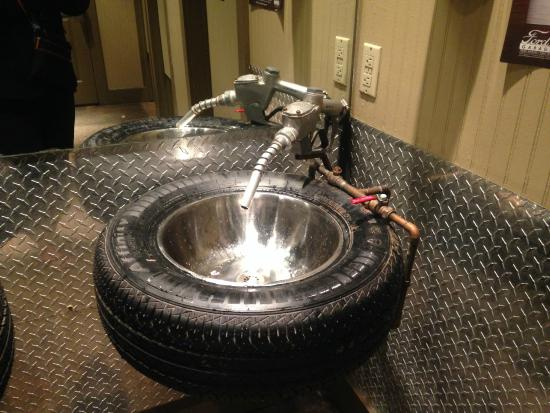 Love The Faucet Amp Sink Picture Of Ford S Garage Fort