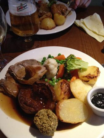 The Bull Inn: The children took me out for Mothering Sunday lunch what a really nice meal from the starters to