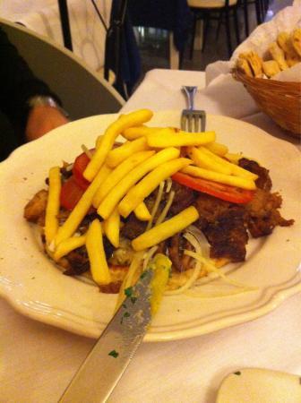 Zeus DOC Restaurant: Pita aperta!!!!