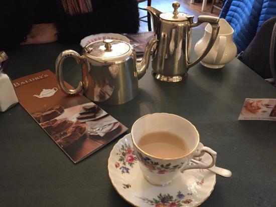 Baldry's Tea Room: Nice cup of Earl Grey.