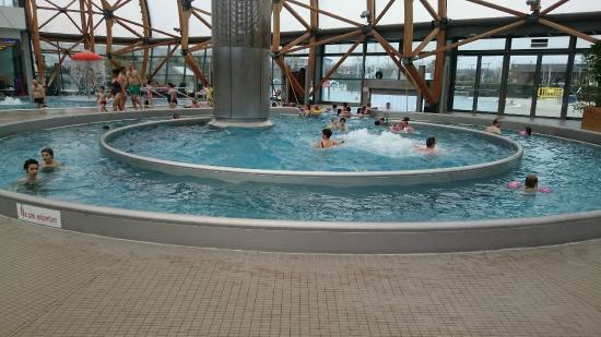 Vitam : piscine avec courant