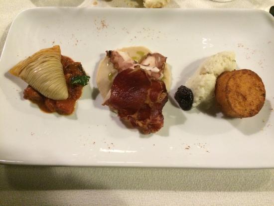 Palazzo Ranucci Restaurant: Antipasto previsto dal coupon! Buonissimo!