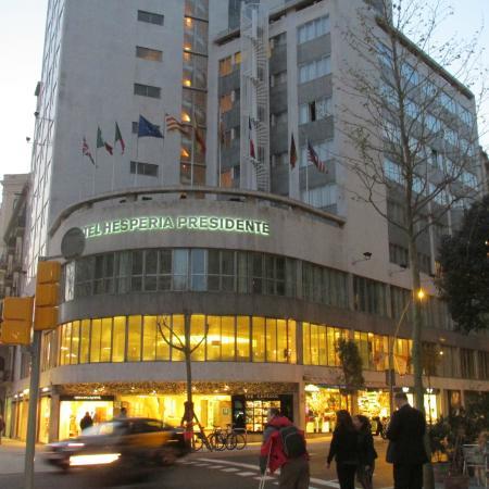 Dalla avinguda diagonal foto di hesperia presidente for Hotel per barcellona