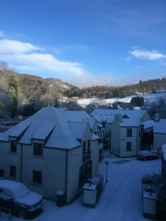 The Royal Dunkeld Hotel: View from my window
